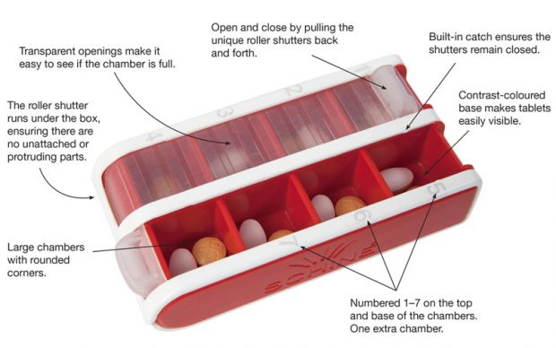 Benefits of the red PillBox S